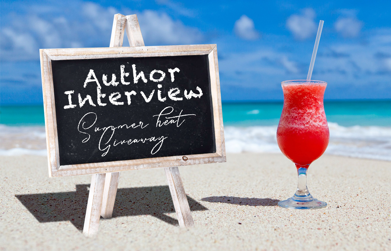 Author Interview Summer Heat Giveaway